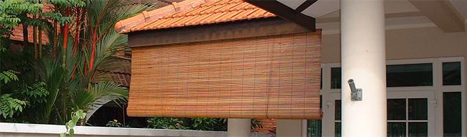 Outdoor Bamboo BalconyBlinds